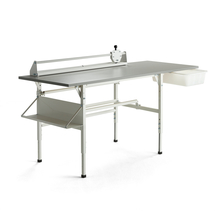 Balicí stůl Send, 2000x800 mm, šedý