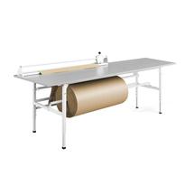 Balicí stůl Send, 2400x800 mm, šedý