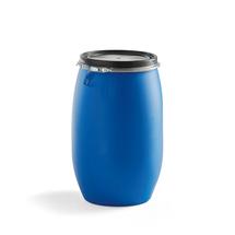 Plastový sud, 120 l, modrý