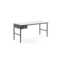 Pracovní stůl Cargo, 2000x750 mm, 1 zásuvka