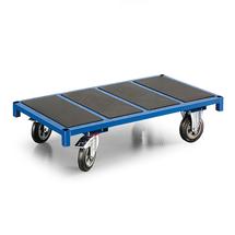 Plošinový vozík, 600 kg, 1300x700x250 mm, modrý