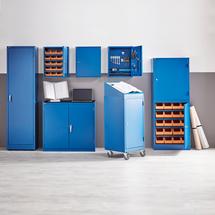 Skříňka na nářadí, 900x950x450 mm, modrá