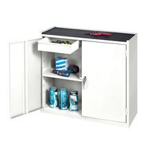 Skříňka na nářadí, 900x950x450 mm, bílá