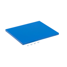 Police do skříňky Serve, šířka 500 mm, modrá