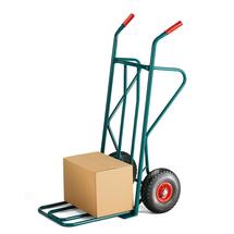 Rudl, 250 kg, pneumatická kola, zelený