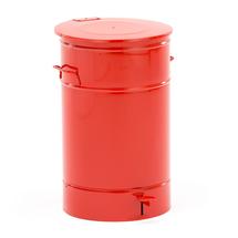 Nádoba na odpad Liston, 70 l, červená