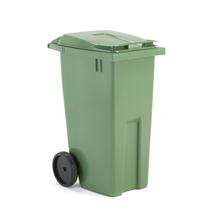 Plastová nádoba na odpad Classic, 190 l, zelená