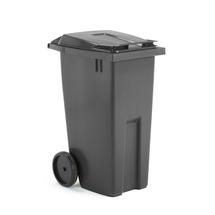 Plastová nádoba na odpad Classic, 190 l, šedá