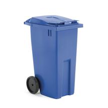Plastová nádoba na odpad Classic, 190 l, modrá