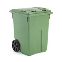 Plastová nádoba na odpad Classic, 370 l, zelená