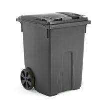 Plastová nádoba na odpad Classic, 370 l, šedá