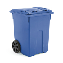Plastová nádoba na odpad Classic, 370 l, modrá