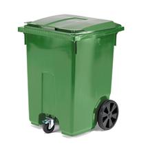 Mobilní nádoba na odpad Classic, 370 l, zelená