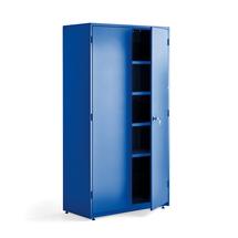 Dílenská skříň, 1900x1020x500 mm, modrá