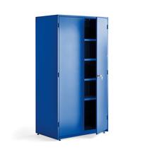 Dílenská skříň, 1900x1020x635 mm, modrá