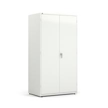 Dílenská skříň, 1900x1020x635 mm, bílá