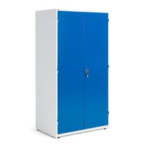 Dílenská skříň, 1900x1020x635 mm, bílá/modrá