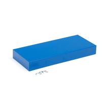 Sokl ke kovové skříňce, modrý