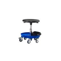 Pracovní stolička Midi, 370-500 mm, modrá