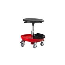 Pracovní stolička Midi, 370-500 mm, červená