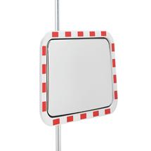 Bezpečnostní zrcadlo, 800x600 mm, akrylátové