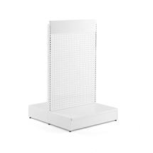 Prodejní regál Shop, oboustranný, základní sekce, 1500x900x1040 mm