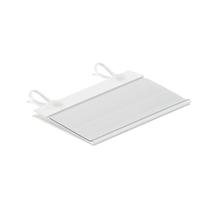 Držák štítků na čelní zarážku Shop, 40x80 mm