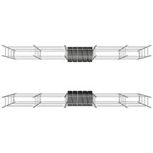 Regály na pneumatiky do kontejneru 20 stop