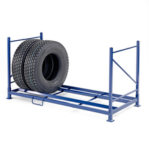 Regál na nákladní pneumatiky, 2400x1100x1260 mm
