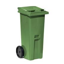 Plastová nádoba na odpad Classic, 140 l, zelená
