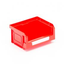 Plastový box Apart, 90x105x55 mm, červený