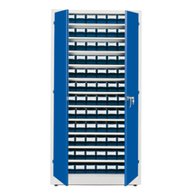 Dílenská skříň s 96 boxy, 1900x1000x400 mm