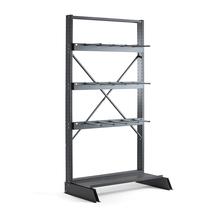 Vertikální regál Plus, jednostranný, 2500x1250 mm