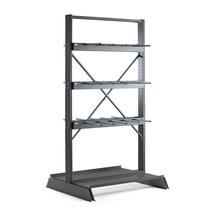 Vertikální regál Plus, oboustranný, 2500x1250 mm