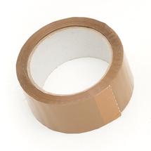 Lepicí páska, 50 mm, délka 6600 mm, hnědá