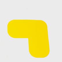 Podlahová samolepka, tvar L