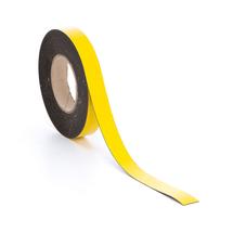Magnetická páska, 25 mm, délka 20 m, žlutá