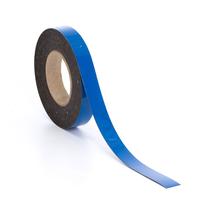 Popisovatelná magnetická páska, 25 mm, délka 20 m, modrá