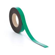 Popisovatelná magnetická páska, 25 mm, délka 20 m, zelená