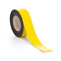 Magnetická páska, 50 mm, délka 20 m, žlutá