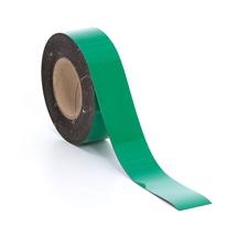 Popisovatelná magnetická páska, 50 mm, délka 20 m, zelená