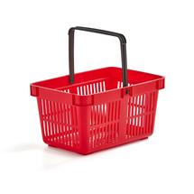 Nákupní košík, 27 l, červený