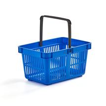 Nákupní košík, 27 l, modrý