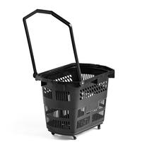 Nákupní košík, 55 litrů, černý