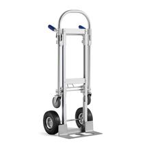 Rudl + vozík, 250 kg, hliníkový