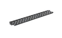 Rošt na obuv Stadium, 2000x275 mm, černý