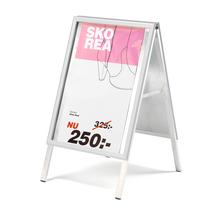 Reklamní stojan áčko, 500x700 mm, hliníkový