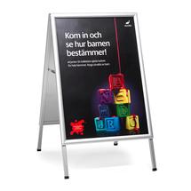 Reklamní stojan áčko, 700x1000 mm, hliníkový
