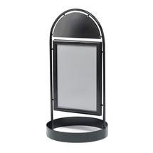 Reklamní stojan, 500x700 mm, černý