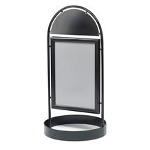 Reklamní stojan, 700x1000 mm, černý